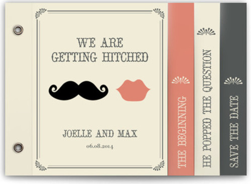 Small cool wedding invites