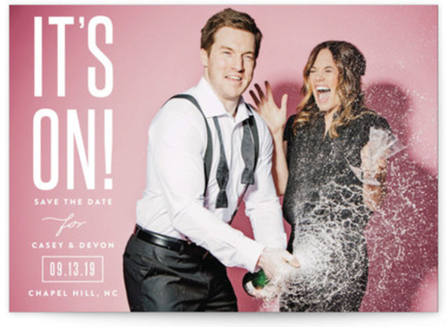 Small funny save the dates
