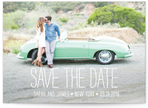 Small save the date card designs
