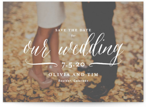 Small save the date cards designs